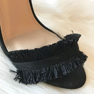 Liliana Shoes - Fringe Heels